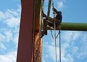 Höhenarbeiter, Seilsicherung, Bauzustandskontrollen